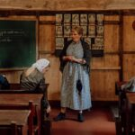 Juffrouw Gootjes geeft les
