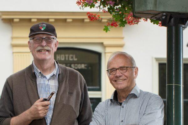 Hijlco Komen en Jan Jansen